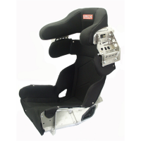 "Circle Track Seats - Kirkey 73 Series Containment Seats - Kirkey Racing Fabrication - Kirkey 73 Series Deluxe Full Containment Seat Cover (Only) -16"" - Black Airknit - Fits #73160"