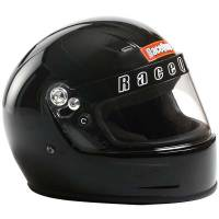 Kids Race Gear - Kids Helmets - RaceQuip - RaceQuip Youth SFI 24.1 Full Face Auto Racing Helmet - Gloss Black