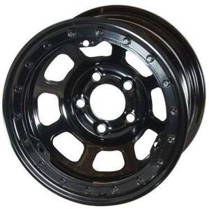 Wheels & Tires - Bassett Wheels - Bassett D-Hole Lightweight Beadlock Wheels