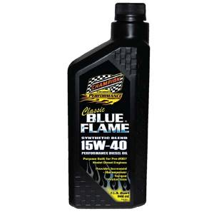 Motor Oil - Champion Motor Oil - Champion Classic Blue Flame Synthetic Blend Diesel Engine Oil