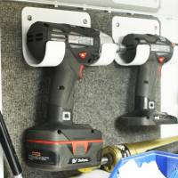 Trailer Accessories - Hepfner Racing Products - HRP Cordless Drill / Cordless Impact Holder - Bare