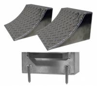 Trailer & Towing Accessories - Trailer Wheel Chocks - Pit Pal Products - Pit Pal Multi-Purpose Chocks with Pins (Set of 2)