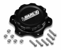 Fuel Cells, Tanks and Components - Fuel Cell Filler Caps - Earl's Performance Plumbing - Earl's Billet Fuel Cell Cap-6-Bolt Flange