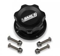 Fuel Cells, Tanks and Components - Fuel Cell Filler Caps - Earl's Performance Plumbing - Earl's Billet Fill Cap-Aluminum Bolt Bung