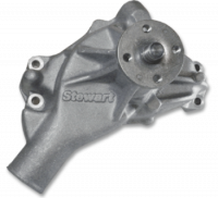 Cooling & Heating - Stewart Components - Stewart Stage 2 Water Pump SB Chevy - Long