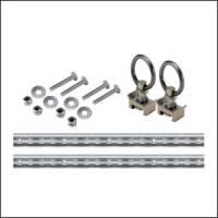 Tie Downs & Mounts - E-Track & Track Straps - Mac's Custom Tie-Downs - Mac's VersaTie Track Kit 1'