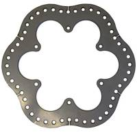 Mini Sprint Brake Components - Mini Sprint Rotors - Triple X Race Co. - Triple X 600 Mini Sprint Rear Brake Rotor - Steel - Ultralight.