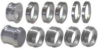 Mini Sprint Rear Suspension - Mini Sprint Axle Spacers - Triple X Race Co. - Triple X 600 Mini Sprint Rear Axle Spacer Kit