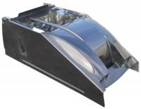 Body - Hood Panels - Triple X Race Components - Triple X Sprint Car Dual Duct Cool Air Hood - Standard Height - Black
