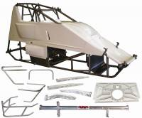 Sprint Car Chassis - Sprint Car Chassis Kits w/ Body - Triple X Race Components - Triple X Sprint Car X Wedge Chassis Racer Kit - 87""