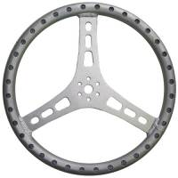 "Midget Steering - Midget Steering Wheels - Triple X Race Co. - Triple X Lightweight Aluminum Steering Wheel - 15"" Diameter - 1-1/4"" Tube"