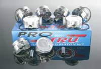 "Piston & Ring Kits - Wiseco ProTru Forged Piston & Ring Kits - ProTru by Wiseco - Wiseco ProTru Forged Piston- Flat Top - 4.040"" Bore - 3.750"" Stroke - 6.000"" Rod - Chevy 350"