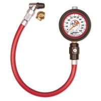 "Longacre Racing Products - Longacre Liquid Filled 2-1/2"" Glow-In-The-Dark Tire Pressure Gauge 0-60 psi By 1/2 lb"