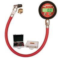 Wheel & Tire Tools - Tire Pressure Gauges - Digital - Longacre Racing Products - Longacre Pro Digital Tire Pressure Gauge 0-125 PSI