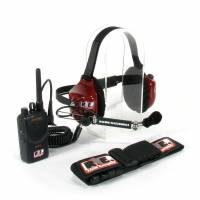 Radios,Transponders & Video - Radio Communication Systems - Racing Electronics - Racing Electronics Motorola Stingray Extra Crew Race Communications Set