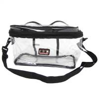 Scanner Parts & Accessories - Scanner Cases & Tote Bags - Racing Electronics - Racing Electronics Clear Gear Bag
