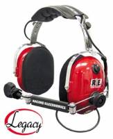 Radio System Parts & Accessories - Radio Headsets - Racing Electronics - Racing Electronics Legacy Classic Headset
