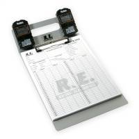 Timing & Scoring - Timing Clipboards - Racing Electronics - Racing Electronics RaceTrac Stopwatch Board