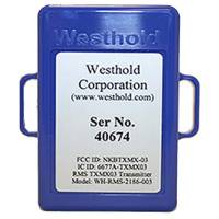Radios, Transponders & Video - Transponders - Westhold - Westhold Activated Kart Transponder (Blue)