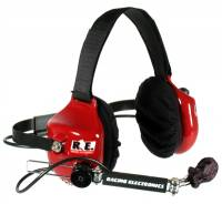 Racing Electronics Legacy Racer Headset with Scanner Option RE005-F