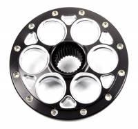 """Weld Wheels - Weld Racing Wheel Centers - Weld Racing - Weld Micro Black Magnum 27 Spline Wheel Center Section - 10"""""""