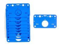 Carburetor Service Parts - Carburetor Gaskets - Quick Fuel Technology - Quick Fuel Technology HP Metering Block Gasket (10pk)