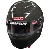 Helmets - Snell SA2015 Rated Full Face Helmets - Simpson Race Products - Simpson Carbon Venator Helmet