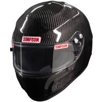 Helmets - Snell SA2015 Rated Full Face Helmets - Simpson Race Products - Simpson Carbon Devil Ray Helmet