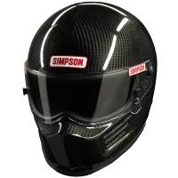 Helmets - Snell SA2015 Rated Full Face Helmets - Simpson Race Products - Simpson Carbon Bandit Helmet