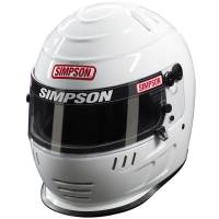 Simpson Helmets - Simpson Speedway Shark Helmet - $869.95 - Simpson Race Products - Simpson Speedway Shark Helmet - White