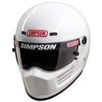 Simpson Helmets - Simpson Super Bandit Helmet - $569.95 - Simpson Race Products - Simpson Super Bandit Helmet - White