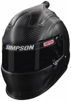 Helmets - Snell SA2015 Rated Full Face Helmets - Simpson Race Products - Simpson Carbon Fiber Air Inforcer Vudo Helmet