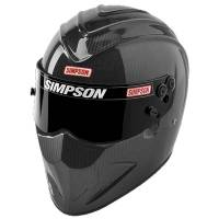 Helmets - Snell SA2015 Rated Full Face Helmets - Simpson Race Products - Simpson Carbon Diamondback Helmet