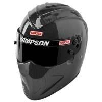 Simpson Helmets - Simpson Carbon Diamondback Helmet - $1599.95 - Simpson Race Products - Simpson Carbon Diamondback Helmet