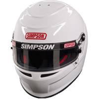 Simpson Helmets - Simpson Venator Helmet - PRICE DROP $599.95 - Simpson Race Products - Simpson Venator Helmet - White