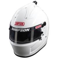 Helmets - Simpson Helmets - Simpson Race Products - Simpson Air Inforcer Shark Helmet - White