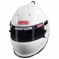 Safety Equipment - Helmets - Simpson Race Products - Simpson Air Inforcer Vudo Helmet - White