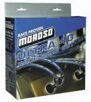 Spark Plug Wires - Moroso Ultra 40 Race Spark Plug Wire Sets - Moroso Performance Products - Moroso Ultra 40 Plug Wire Set