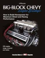 Engine Books - Chevrolet Engine Books - HP Books - Big Block Chevy Engine Build-ups