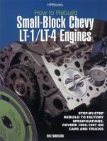Engine Books - Chevrolet Engine Books - HP Books - How To Rebuild LT1/LT4 Engines