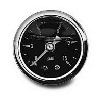 Air & Fuel System - Russell Performance Products - Russell 0-15 psi Fuel Pressure Gauge