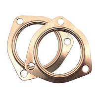 Exhaust System - SCE Gaskets - SCE 2.5 Copper Collector Gaskets (pair)