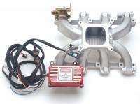 Intake Manifolds - Intake Manifolds - GM LS Series - Edelbrock - Edelbrock Victor Jr. LS1 Intake Manifold - SB Chevy LS1 V8 Carbureted