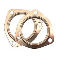 Exhaust System - SCE Gaskets - SCE 3.00 Copper Collector Gaskets (pair)
