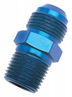 """Fittings & Hoses - Russell Performance Products - Russell #4 Male to 3/8"""" NPT Mal Straight Adapter"""