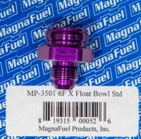 Fittings & Hoses - MagnaFuel - MagnaFuel #6 Holley Float Bowl Fitting