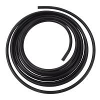 Fuel System Fittings & Filters - Fuel Line - Russell Performance Products - Russell 3/8 Aluminum Fuel Line 25 Ft. - Black Anodized