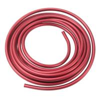 Fuel System Fittings, Adapters and Filters - Fuel Line - Russell Performance Products - Russell 3/8 Aluminum Fuel Line 25 Ft. - Red Anodized