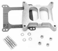 Edelbrock - Edelbrock -4 Barrel Carburetor Spacer - Performer Divided-Wall