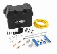 Ignition & Electrical System - Mr. Gasket - Mr. Gasket Battery Installation Kit - Includes Battery Case / Hold-Down / All Hardware